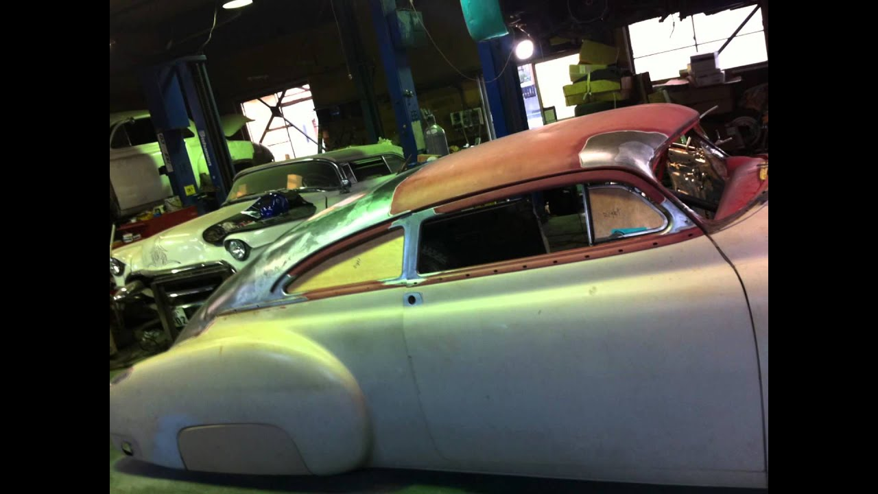 All Chevy 1951 chevrolet fleetline : 1949 Chevy Fleetline Chopped Top 3 Kustom - YouTube
