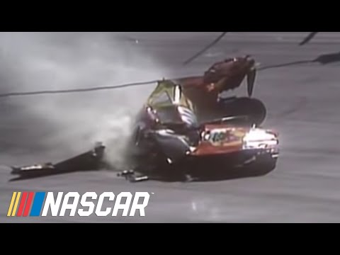 Michael Waltrip Crash at Bristol  Official Footage  - YouTube