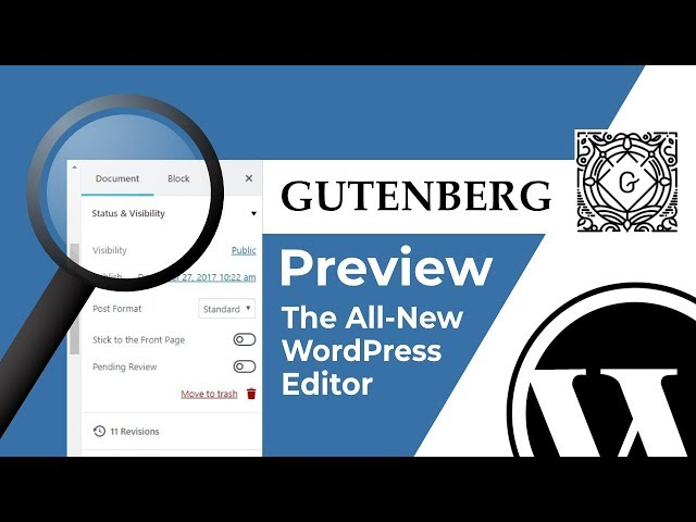 Gutenberg Demo: The NEW EDITOR Experience in WordPress 5.0