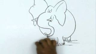 How to Draw a Rat and Elephant
