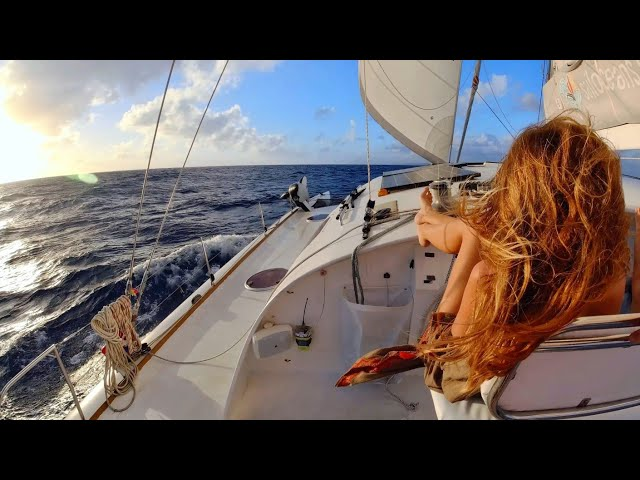 Sailing off shore - Guadeloupe, here we come! MAN OVERBOARD TRAINING