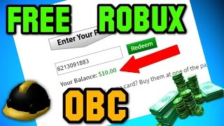 ROBLOX * NEW * FREE ROBUX AND OBC/TBC/BC *NEW PROMO CODE* {NO DOWNLOAD} BUY ANYTHING ON CATALOG?!