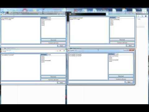 Client Server Multi Chat Room C#