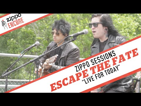Zippo Encore Sessions: ESCAPE THE FATE -