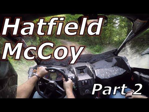 Hatfield McCoy Part 2! Rockhouse! X3 XRS, YXZ, RZR XP1000!
