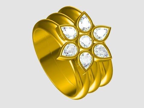 jewelCad Diamond Ring 001