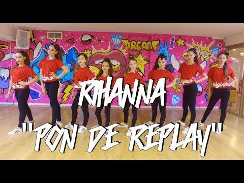 Rihanna - Pon de Replay  Choreography by: Shaked David