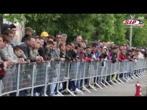 Vespa Drag race in Parma 2012