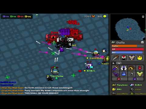 ROTMG: The Admin Sword & Crown Incident