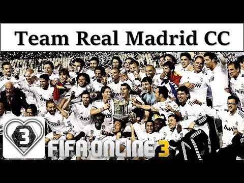I Love FO3 | Xây Dựng Đội Hình Team Color Hoàng Gia REAL MADRID CC Fifa Online 3: Galacticos 1.5