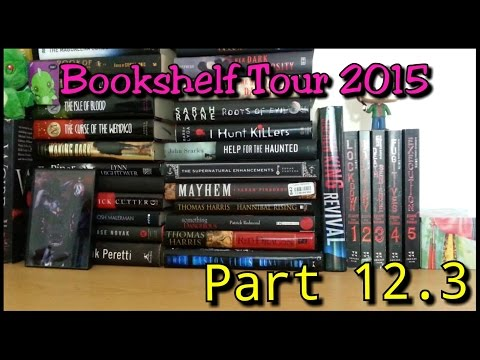 Bookshelf Tour 2015 || Part 12.3: People Horror Books