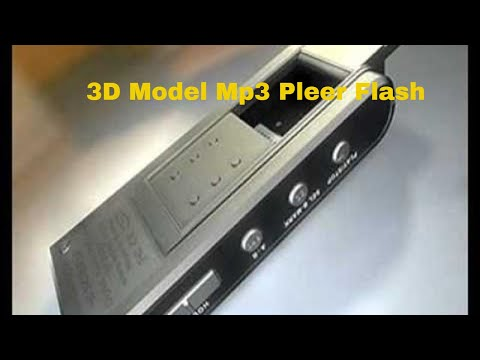 3D Model Mp3 Pleer Flash