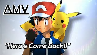 "Gambar cover Pokémon XY&Z -AMV- ""Hero's Come Back!!"" (Naruto Shippūden OP1)"