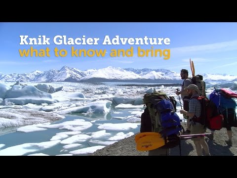 Knik Glacier Packrafting Adventure - What to Know and Bring