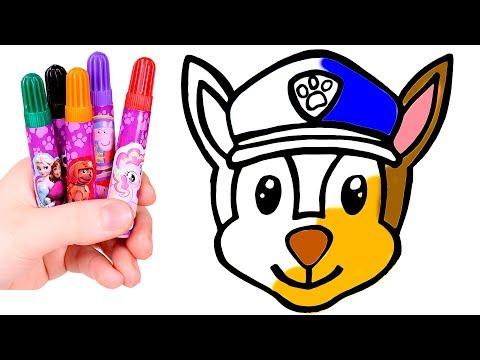 dibuja-y-colorea-al-perro-policía-kawaii-🐾🎨-dibujos-para-niños