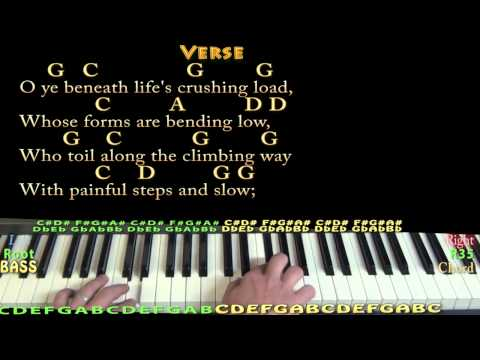 It Came Upon a Midnight Clear CHRISTMAS Piano Cover Lesson in G with ChordsLyrics