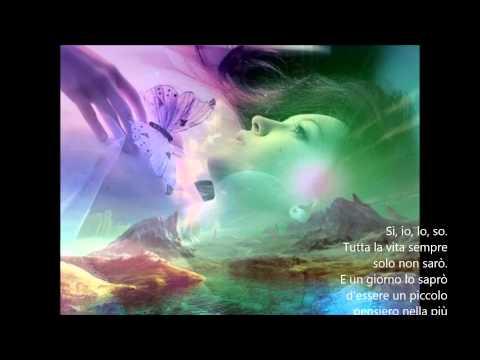 Johnny Dorelli canta L'immensita video con testo Mario Ferraro