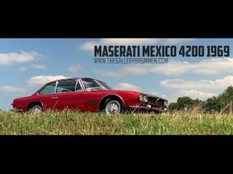 MASERATI MEXICO 4200 - 1968 | GALLERY AALDERING TV - YouTube