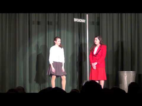 Guys and Dolls Scene 14 - Marry the Man Today - Monsignor Slade Catholic School