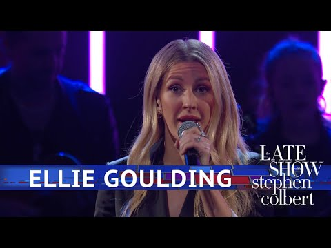 Carter - Watch Ellie Goulding Transform 'Close to Me' on 'Colbert'!