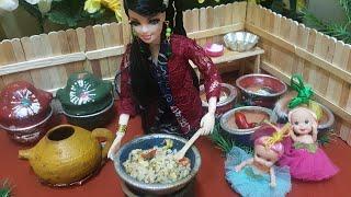 Barbie Masak Nasi Goreng Pedass Cerita Barbie Bahasa Indonesia Terbaru Youtube