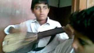 balochi kid singing a song