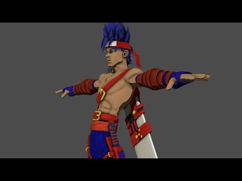 Creating An Anime Character In Blender 2.0 Promo Time-lapse