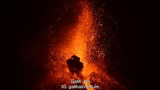 Krakatau Volcano The Peak of The Eruption