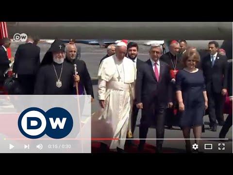 Papa'dan 'soykırım' çıkışı