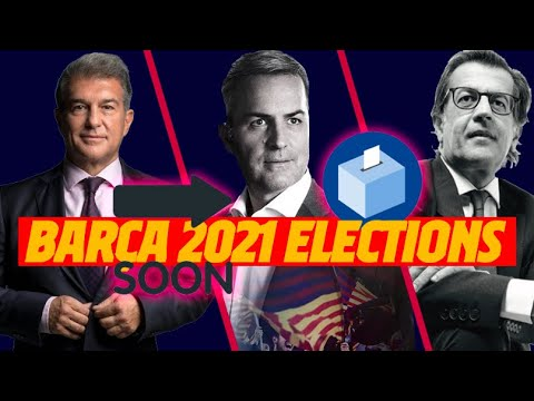 ????️ ALL ABOUT THE FC BARCELONA 2021 ELECTIONS ????️