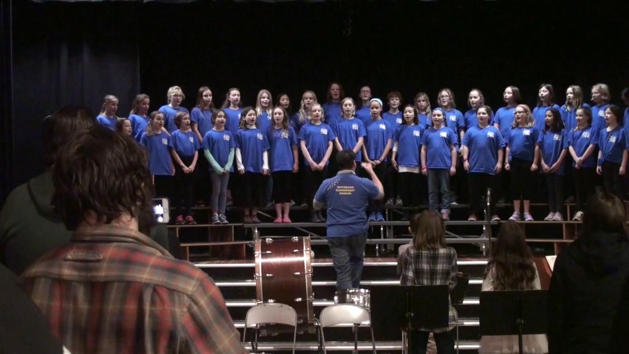 national childrens choir performance - 1 день