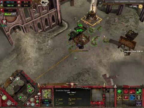 Dawn of War - 1vs1 Skirmish - Orks vs SM |