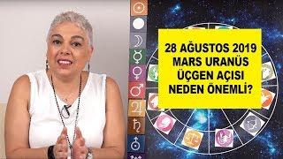 28 Ağustos'ta  Mars Uranüs Üçgen Açısı Neden Önemli? #burçyorumları