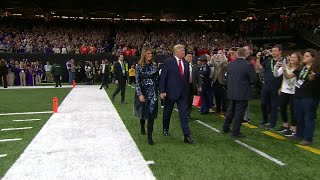 'Four More Years'; President Trump cheered loudly at College Football National Championship