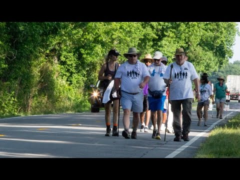 THE WALK for Rural Healthcare - on the highway June 1, 2015