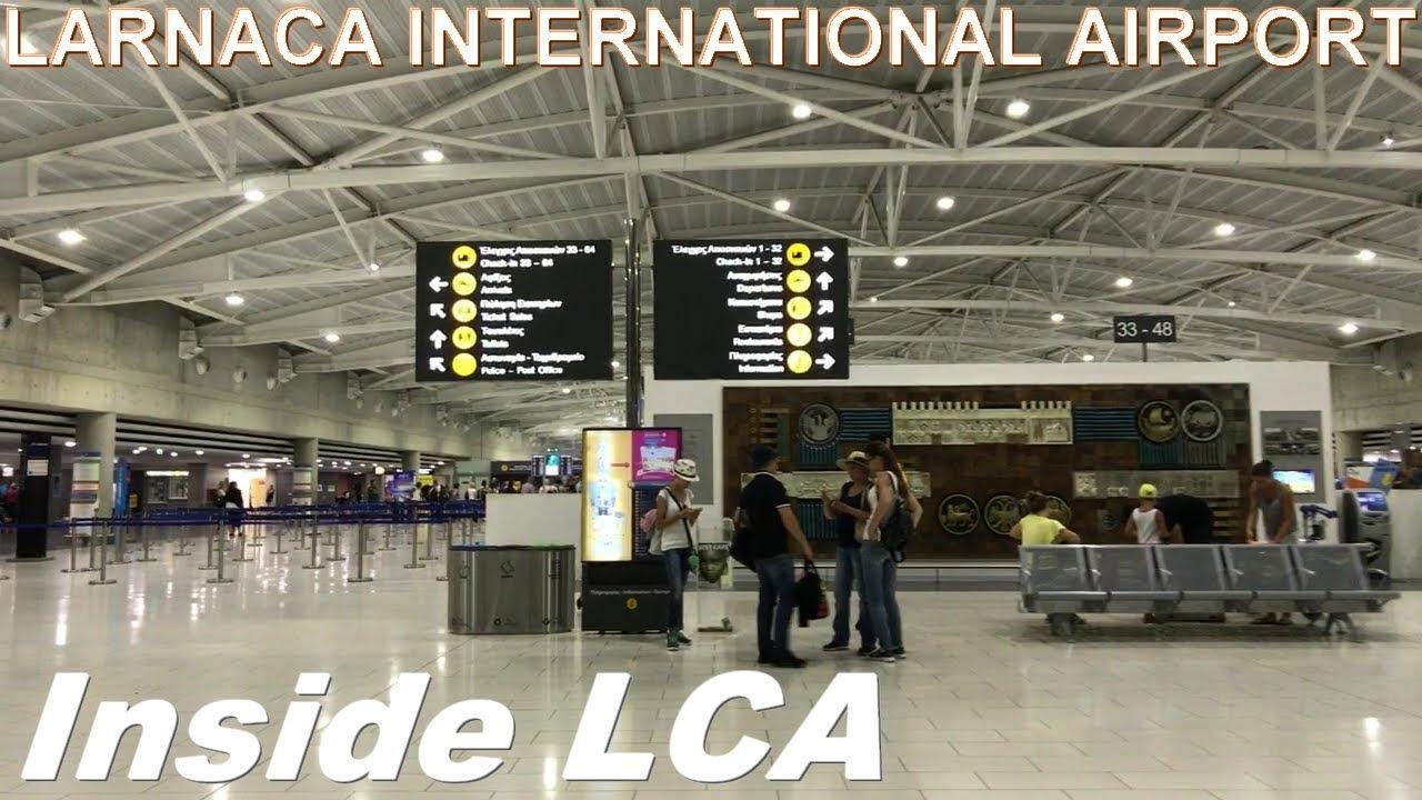Inside LCA (Larnaca International Airport)