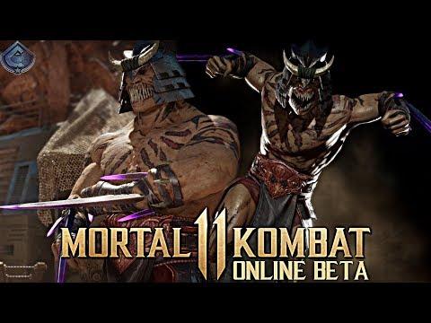 Mortal Kombat 11 Online Beta - INSANE BARAKA COMBOS! thumbnail