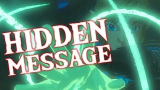 HIDDEN MESSAGE in Breath of the Wild SEQUEL trailer | REVERSED TRAILER