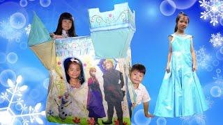 Frozen アナと雪の女王 お城 の おうち おままごと ディズニー 家 おもちゃ Disney Castle House thumbnail