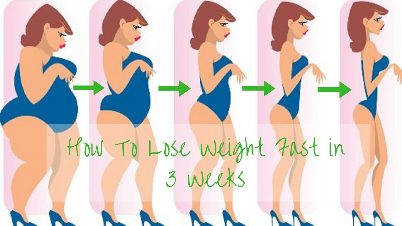 How to lose weight fast in 3 weeks youtube how to lose weight fast in 3 weeks ccuart Image collections