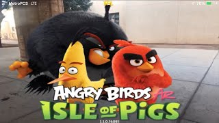 Angry Birds Isle of pigs official gameplay