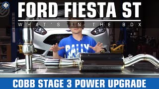 COBB Stage 3 Power Upgrade - 2014 Ford Fiesta ST (Install/Review)