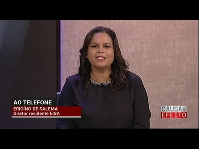 Entrevista ao novo diretor do IHMT, Filomeno Fortes, para o programa da RTP África - Causa e Efeito