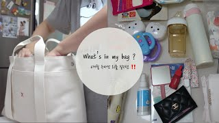 What's in my bag  | 기저귀 가방 같이 …