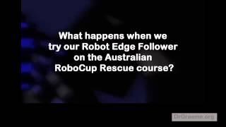 c4 4 teaching lego mindstorms ev3 robot yayabot to follow the edge of a line