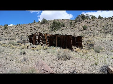 Exploring an abandoned mining community in the desert