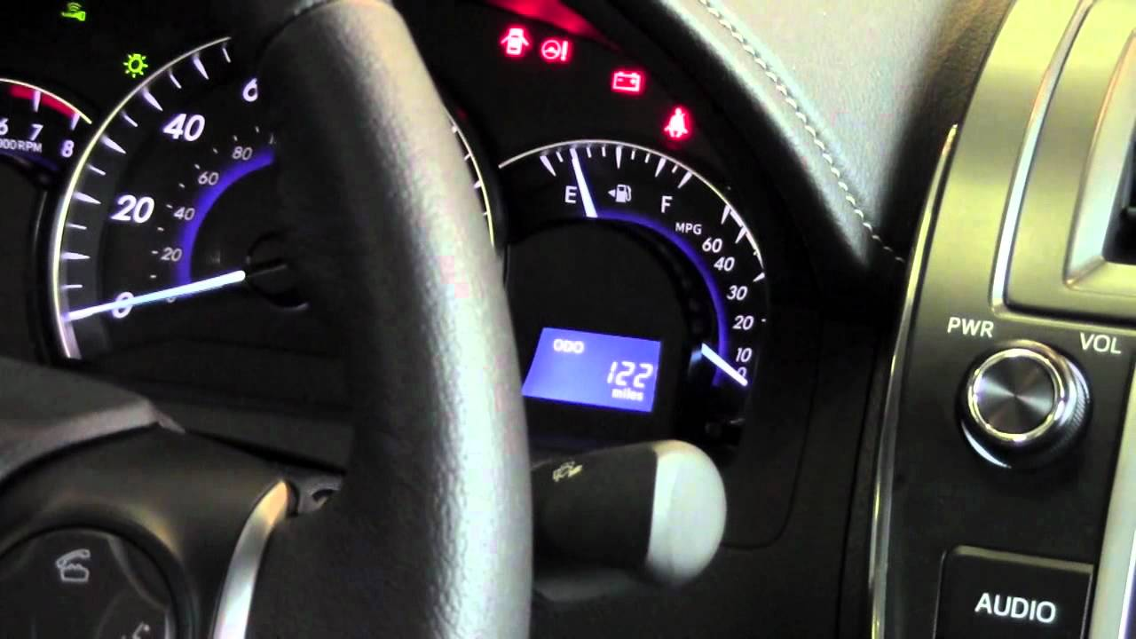 2012 Toyota Camry Eco Mode How To By Toyota City