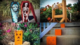 Halloween Wood Projects