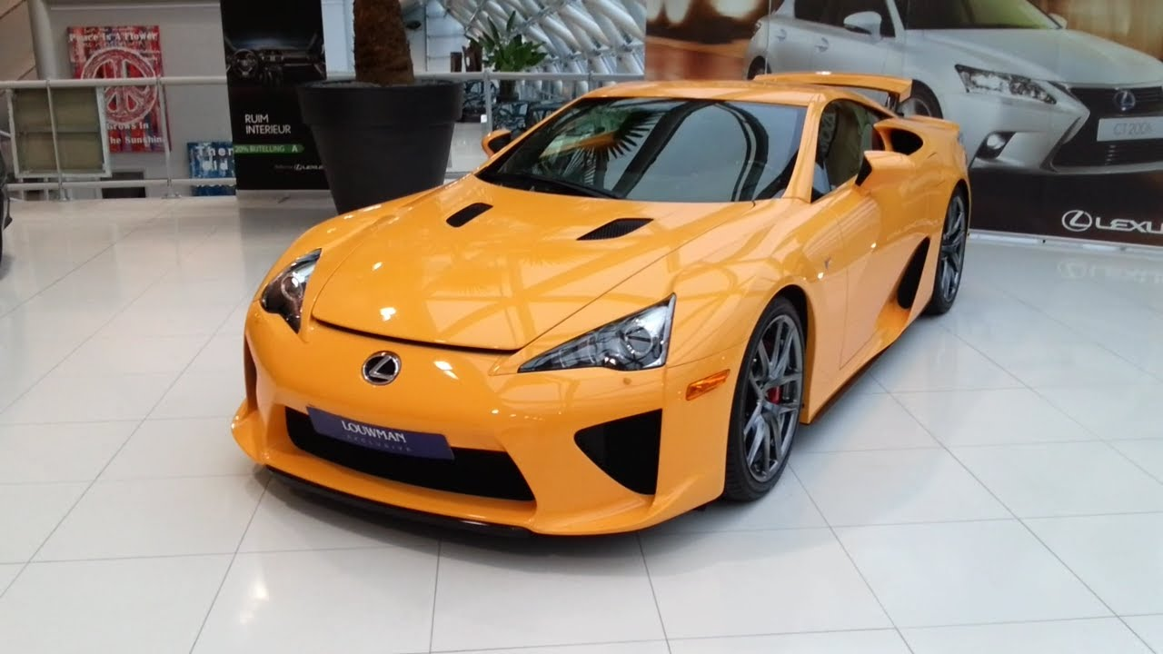 Lexus LFA 2015 Start Up In Depth Review Interior Exterior