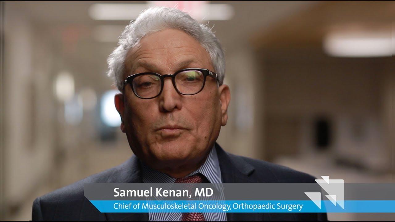 Samuel Kenan, MD, Chief, Musculoskeletal Oncology, Orthopedic Surgery #Orthopedicsurgery